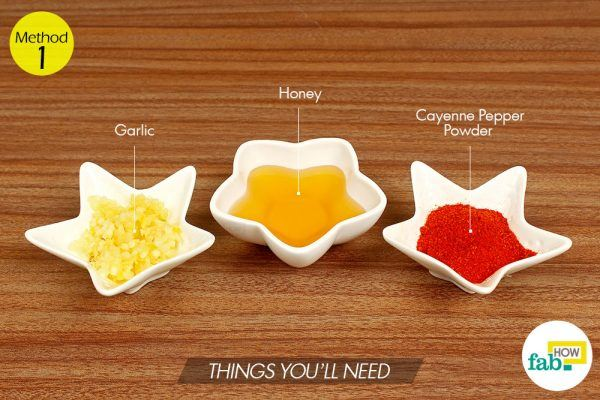लहसुन से सर्दी-जुकाम के इलाज के लिए आवश्यक सामग्री