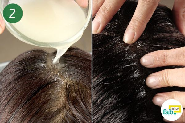 बालों में कपूर के तेल से मालिश कीजिये
