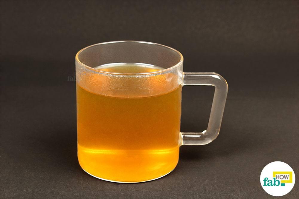तैयार धनिया की चाय का सेवन कीजिये