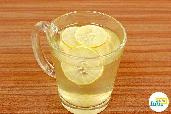 तैयार पेय का सेवन करें