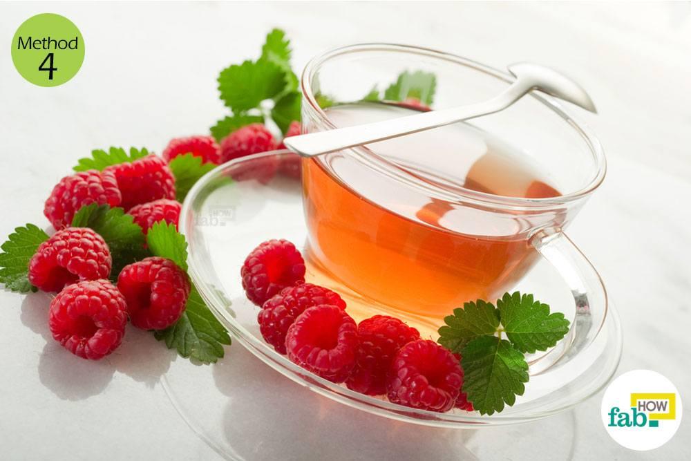 लाल शहतूत (रेड रैस्बेरी) से चाय बनाइये