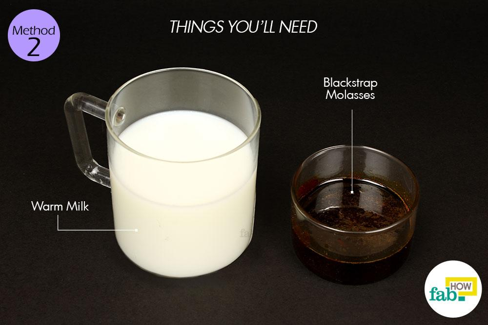 ब्लैकस्ट्रैप मोलासेस (काला शीरा या राब) के इस्तेमाल के लिए आवश्यक सामग्री