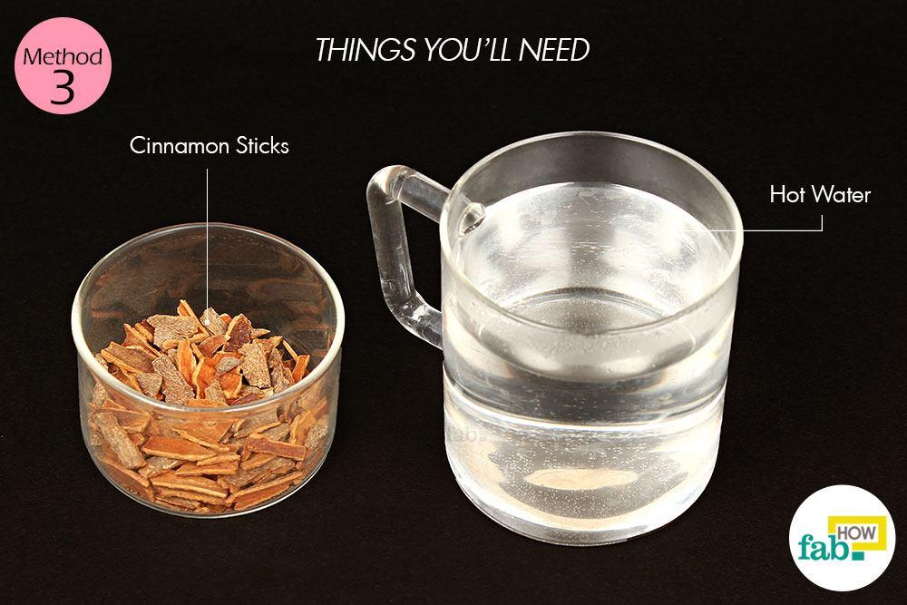 दालचीनी चाय बनाने के लिए आवश्यक सामग्री