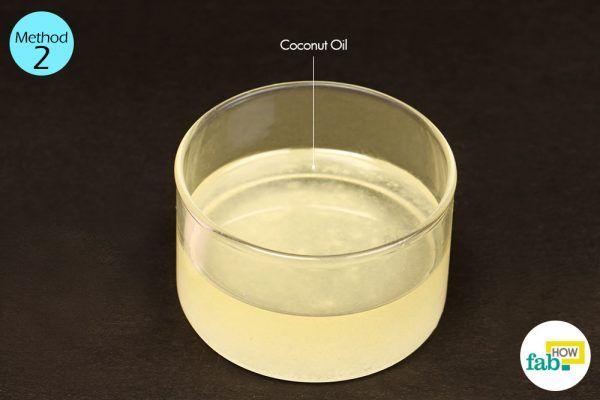 नारियल तेल के इस्तेमाल के लिए आवश्यक सामग्री