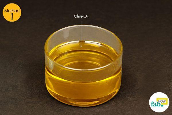 जैतून के तेल के इस्तेमाल के लिए आवश्यक सामग्री