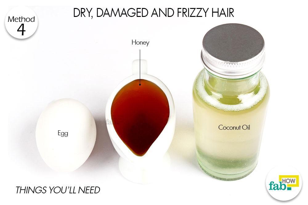 रूखे, बेजान और उलझे बालों के लिए नारियल तेल के इस्तेमाल के लिए आवश्यक सामग्री