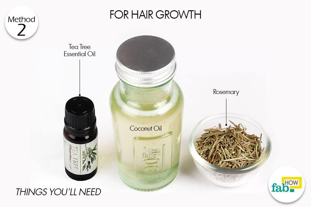 बालों को लंबा करने के लिए नारियल तेल के इस्तेमाल के लिए आवश्यक सामग्री
