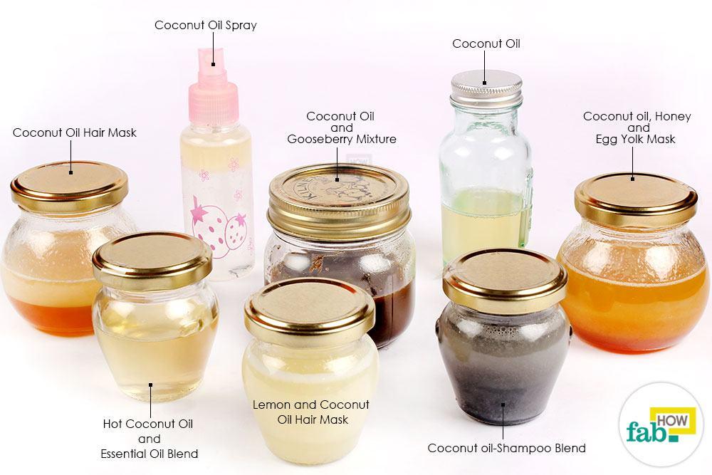 बालों के लिए नारियल तेल के उपयोग