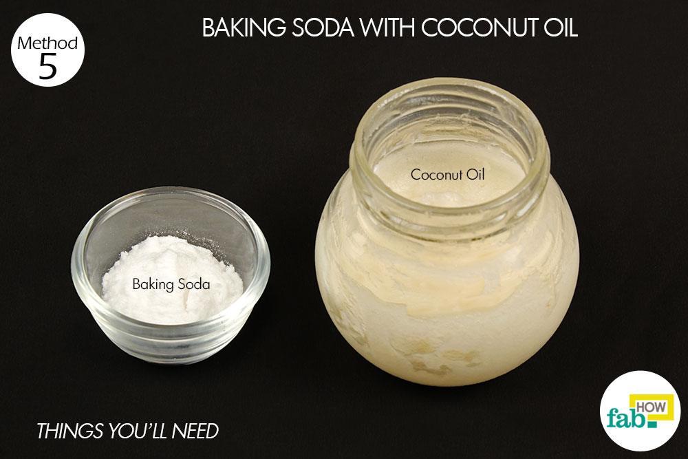 बेकिंग सोडा और नारियल तेल से पेस्ट बनाने के लिए आवश्यक सामग्री