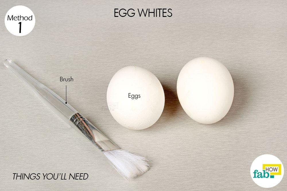 अंडे के सफेद भाग से बुखार कम करने के लिए आवश्यक सामग्री