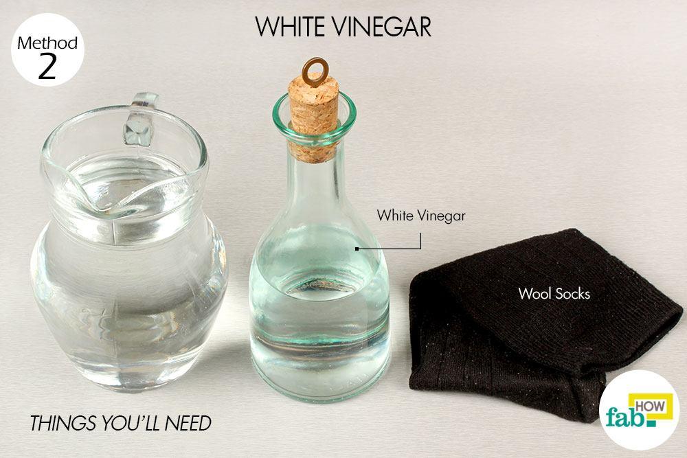 सफेद सिरके के इस्तेमाल के लिए आवश्यक सामग्री