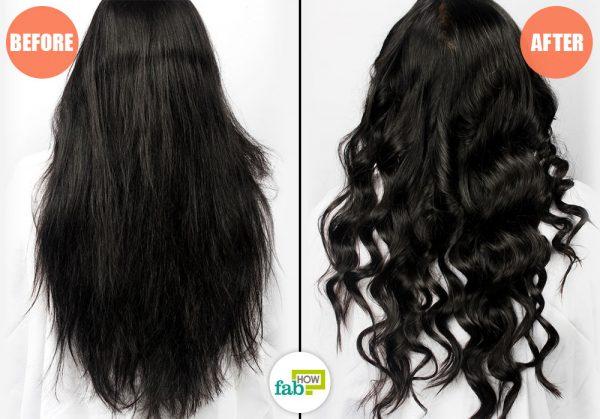 आप अपने बालों को एक या दो दिनों क लिए कर्ल कर सकते हैं