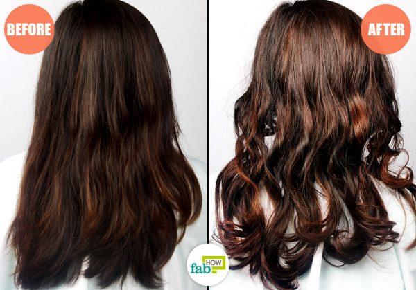 हेडबैंड के इस्तेमाल से बालों को कर्ल किया जा सकता है