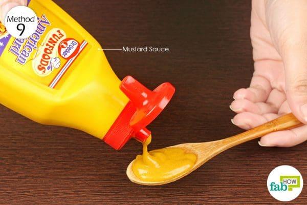 पीली सरसों के पेस्ट का इस्तेमाल कीजिये