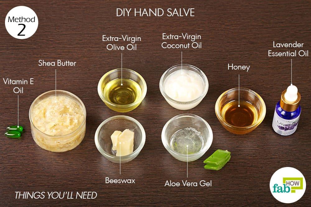 प्राकृतिक मरहम/क्रीम बनाने के लिए आवश्यक सामग्री