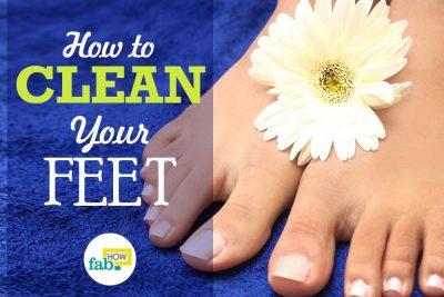 पैरों के पंजों को सुन्दर व साफ रखने का आसान उपाय