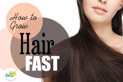 बालों को तेजी से कैसे बढ़ाएं