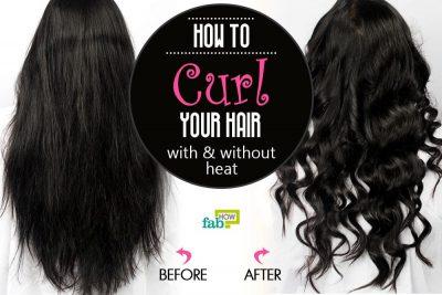 घर पर बालों को कर्ल करने के आसान तरीके