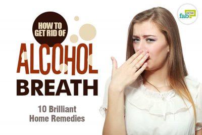 मुंह से शराब की गंध दूर करने के घरेलू उपाय