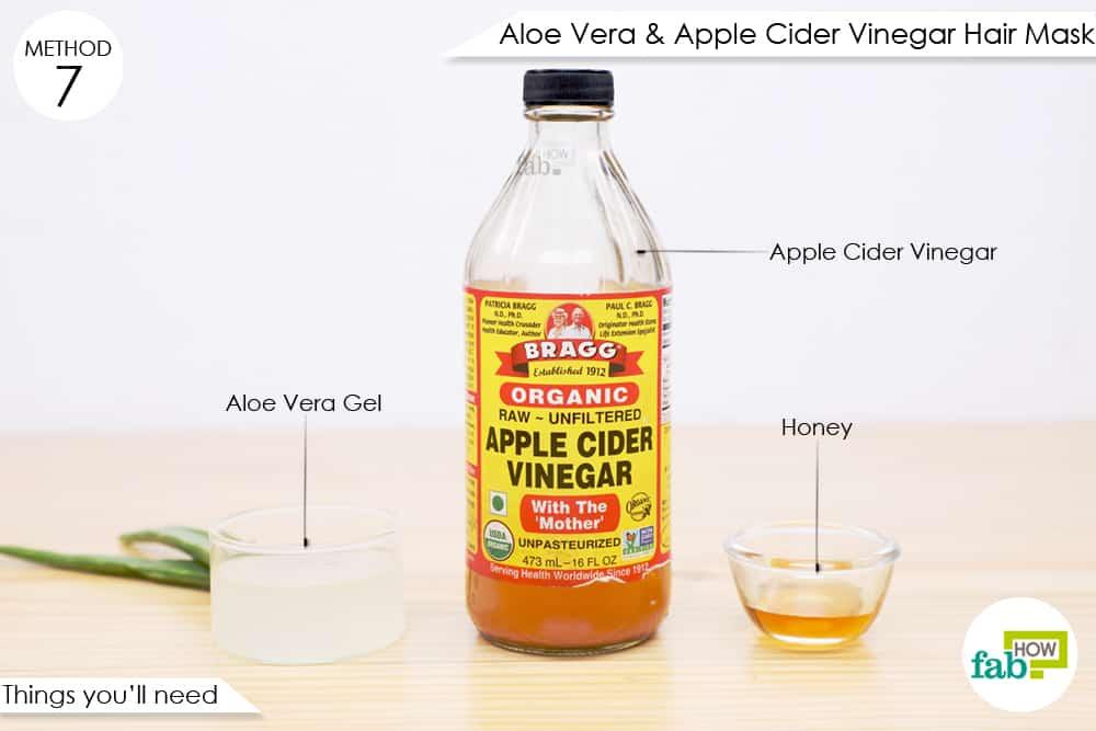 सेब के सिरके से हेयर पैक बनाने के लिए आवश्यक सामग्री