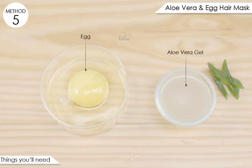 अंडे से हेयर पैक बनाने के लिए आवश्यक सामग्री