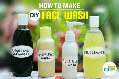 त्वचा के लिए सुरक्षित फेसवॉश बनाने का उपाय
