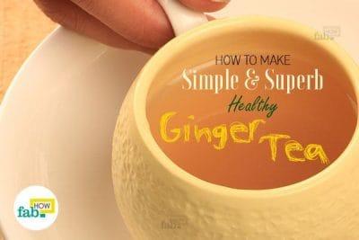 स्वास्थ्यवर्धक अदरक की चाय कैसे बनायें
