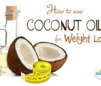 नारियल तेल से वजन कम करने का तरीका