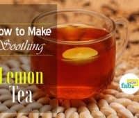 सरल तरीके से बनायें नींबू की चाय (लेमन टी)