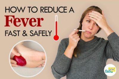 बुखार के इलाज के घरेलू उपचार