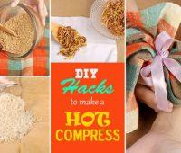 घर पर गर्म सेंक (वार्म कंप्रेस) बनाने की 5 विधियाँ