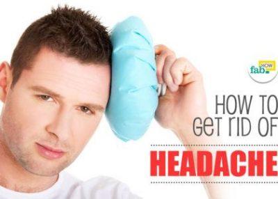 सिरदर्द से छुटकारा पाने के घरेलू उपाय
